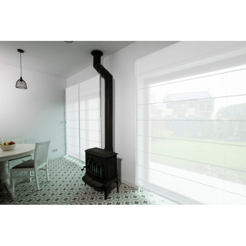 scheibengardine nach ma farfalle. Black Bedroom Furniture Sets. Home Design Ideas