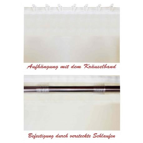 """Schiebevorhänge nach Maß """"Plauen"""", Ansicht 1"""